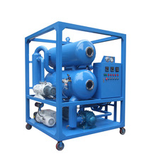 Portable Vacuum Transformer waste oil purification machine