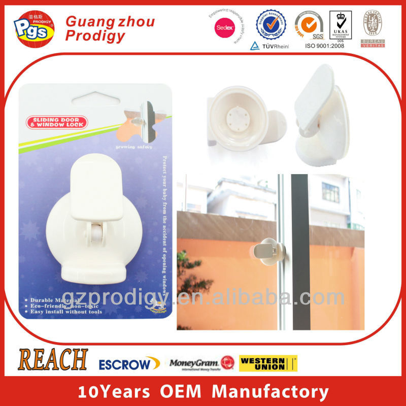 child safety product suction cup pvc window locks