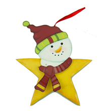 Star baby shape best wooden Christmas tree decoration wholesale