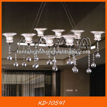 Modern commercial pendant lighting crystal KD-10541 for living room,dinning room,bedrom,home