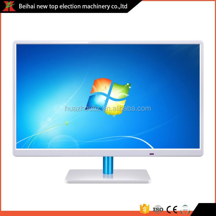 Super slim free standing hot led monitor