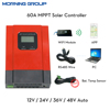 eSmart3 MPPT Solar Charge Controller LCD Display with RS485 PC Software WIFI Mobile APP Monitor 12V24V36V48V Auto 20A 40A 60A