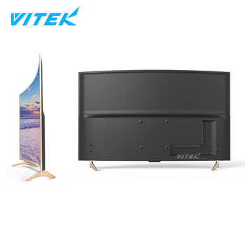 High Quality 32 55 65 inch curved 4k tv LED lcd screen, OEM Accept 27 32 inch FHD LED curved monitor