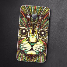 OEM Custom design printed tpu phone cover for samsung j2 2016