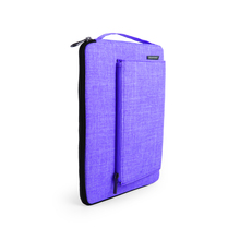 New Model Factory Oem Made Polyester Material Slim 11.5 Inch Purple Multi Function Laptop Bag For Girls