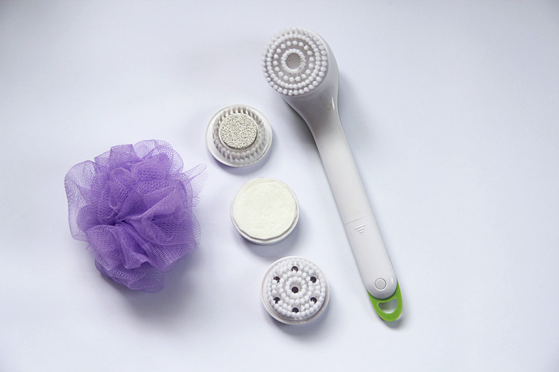 5 in 1 Waterproof Electric Spin Spa Spinning Spa body Brush as seen on tv