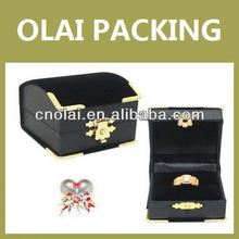 high quality exquisite jewelry box ring holders