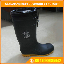 Factory Anti Static PVC Heat Protection Chemical Mining Safety Boots