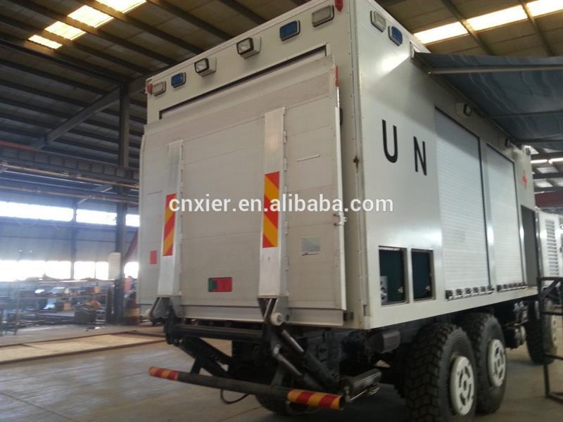 CKD truck body Refrigerated cargo box van truck body/mercedes benz trucks body for fish