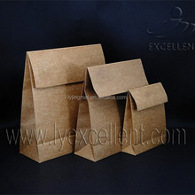 low price & good quality kraft paper bag for food