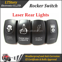 Custom Design Label Waterproof Rocker Switch