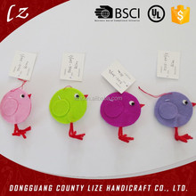 2015 new hot sale product cheap fabric animal craft handmade wholesale Easter chick decoration felt buy craft supplies