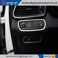 Car Accessories High Quality Chrome CENTER STACK COVER for 2015 Sorento