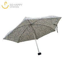 Multi Decorative Pattern 5 Folding Mini Umbrella Promotion