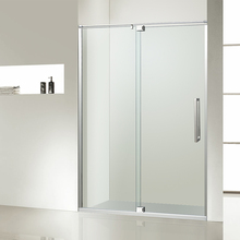 Australian standard tempered glass frameless shower glass screen