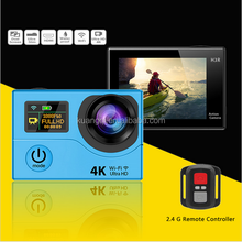 Original H3/ H3R + 2.4G Remote Controller Action Camera Ultra HD 1080P 60fps 2 Inch Screen 170 Degree WIFI Sports DV