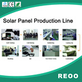 REOO solar cell tabber stringer Solar panel strings laying up transport 20MW Solar panel production line