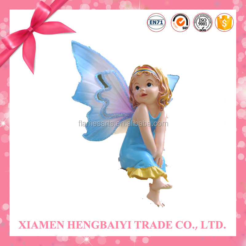 Fairy Art Statue Figurine Statye Beautiful Details For Wedding Gifts Home Decoration