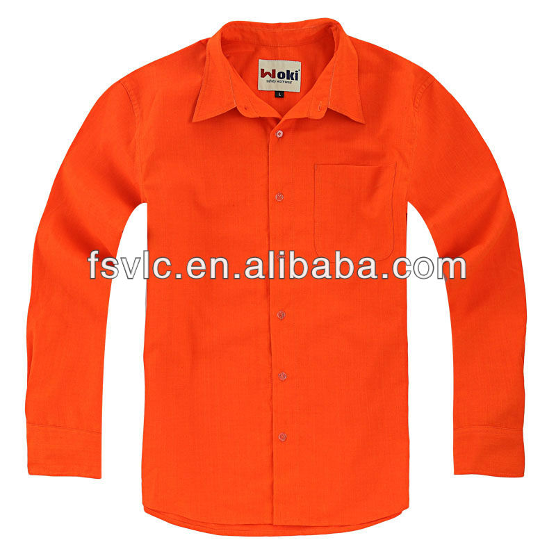 Nomex Antistatic Flame Retardant Safety T- Shirt For Oil Worker