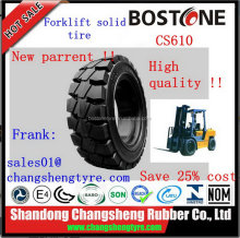 Good quality manufacture rim guard solid forklift tyres