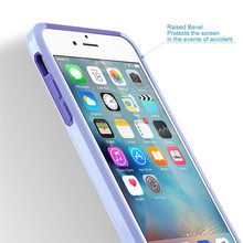 Slim mobile phone case for iphone 6 plus and 6s plus purple