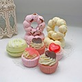 Lovely shape Private label bath fizzer bomb set