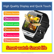 High quality MTK chip android smart watch phone anti-lost smart watch dz09