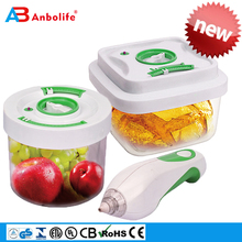 Sealed Freshness Preservation No More Waste Easy To Use Auto-Stop Air pump Vacuum 1.2L 1.5L Food Container Storage Food Safer