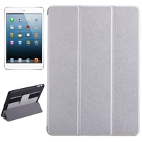 Factory Price 3Folding Flip Leather Case for iPad Air Cover with Hand Strap