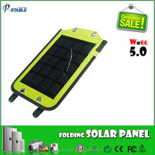hard PCB material 5W 5V 1a solar backpack solar charger for cell phone usage