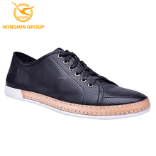 guangzhou high class italian men shoes , 2015 wholesale fashion european breathable men lace up leather casual shoes