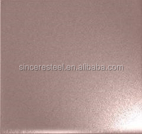 201 304 316 430 Stainless Steel Color Coating Sheet