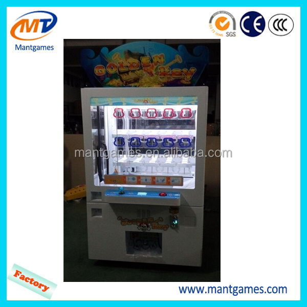 Best-selling tickets prize game machine/high quality key master prize machine/claw crane vending machine