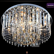 Guangzhou star shaped led crystal ceiling lamp