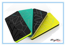 BRAND NEW color blocking 5600mAh power bank/ultrathin decorative pattern charger/ practical beautiful gift