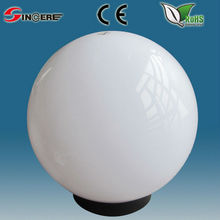 outdoor lighting uvioresistant acrylic outdoor globe fitting