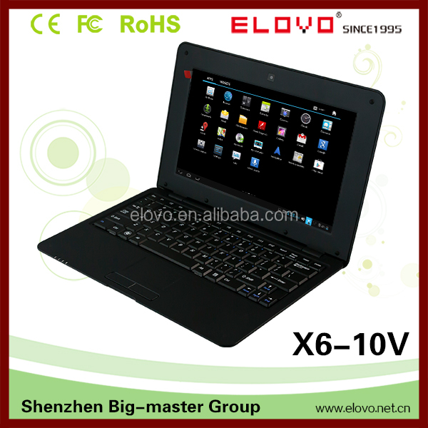 roll top laptop prices in china 10 inch VIA WM8850 android 4.1 prices of laptops in dubai not used laptop