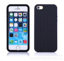 Mobile Phone Case for iPhone 5,for Apple iPhone 5s Tire Pattern Soft Cover Case