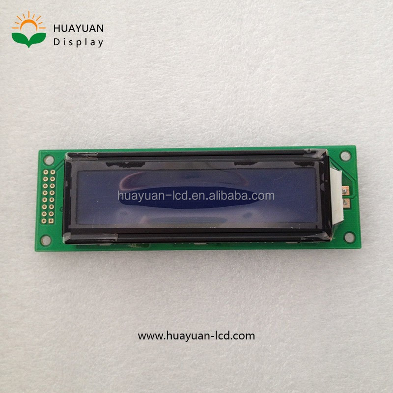 20X2 STN Character LCD Module Blue LED Backlight, 20x2 Character LCD display module, small panel display lcd character 20x2