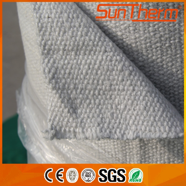 Furnace curtains ceramic fiber cloth