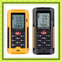 HT-80 Black Mini digital laser distance meter/measurer device(40M/60M/80M/100M)