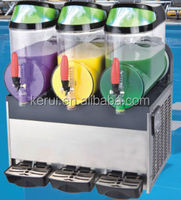 Best price wholesale 10L 3tank margarita slush machine with CE