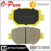 Auto spare parts top quality car ceramic disc break pad for Toyota corolla saloon celica GDB3316 04465-32191