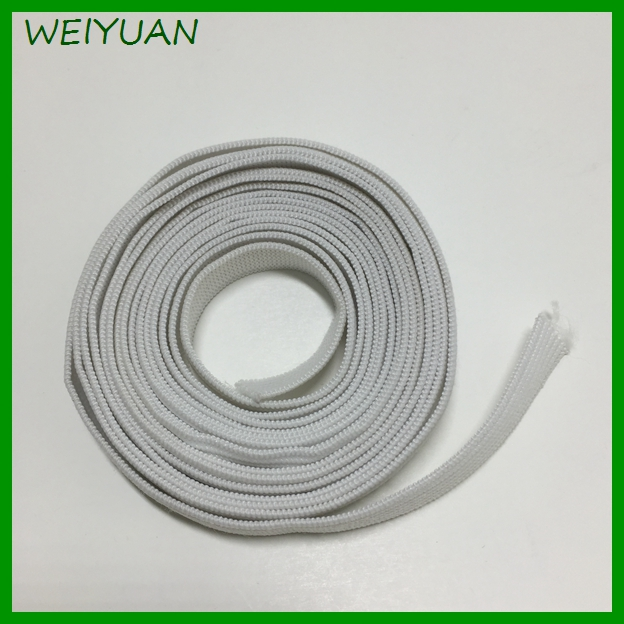 Factory provide custom braided shoes elastic band