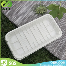 Disposable fruit packaging trays for supermarket