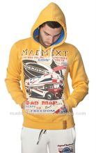 Sweater Hoodies Funnel Neck London British Madmext MDXT-8065