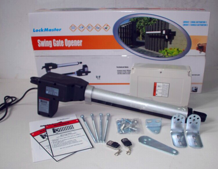 Farm use solar swing gate operator with single arm buy