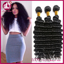 Factory Supply Virgin Raw 100% cambodian deep curl hair Deep Curly Human Hair