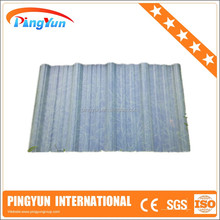 clear pvc sheet/water resistant/clear roofing panels