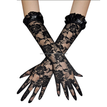 Cheap Lace Gloves Evening Dress Long Lace Gloves
